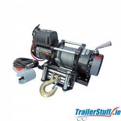 Warrior Ninja 4500 12V Electric Winch with Steel Rope 4,500lbs