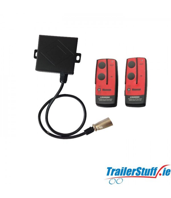 Warrior Electric Winch Wireless Remote Setup