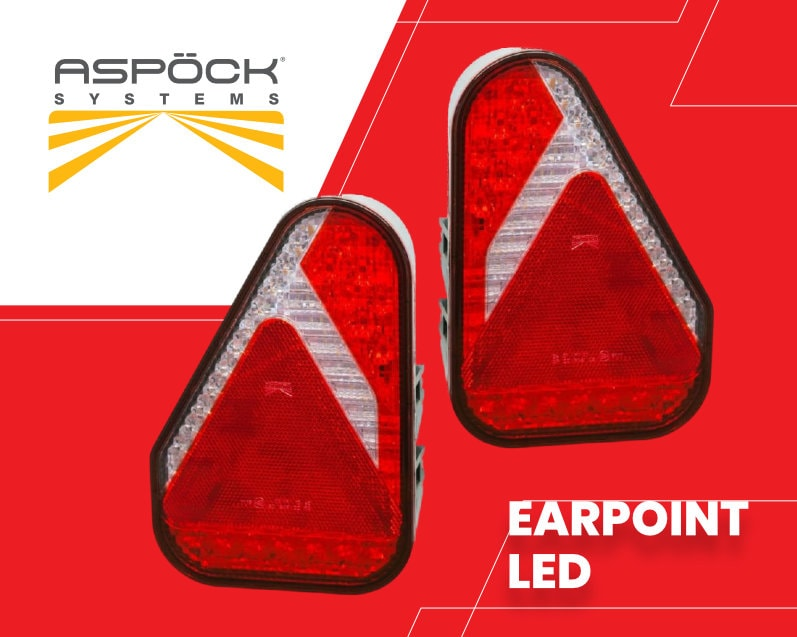 Aspock trailer lights